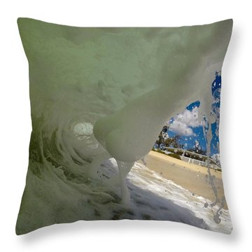 Mystery Object Throw Pillow