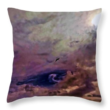 Mystery Sky Throw Pillow