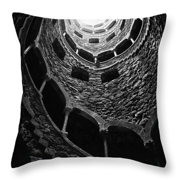 Mystery Tower Throw Pillow