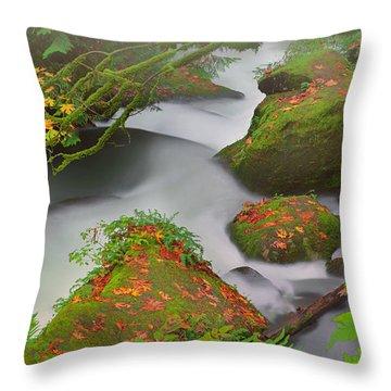 Mystic Autumn Throw Pillow