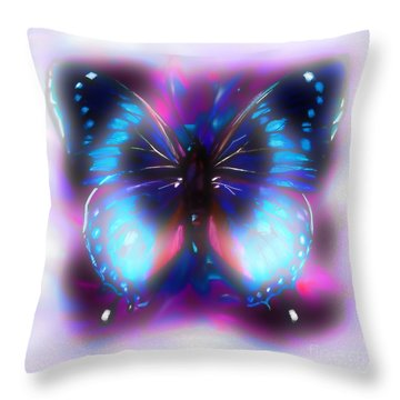 Mystic Butterfly  Throw Pillow