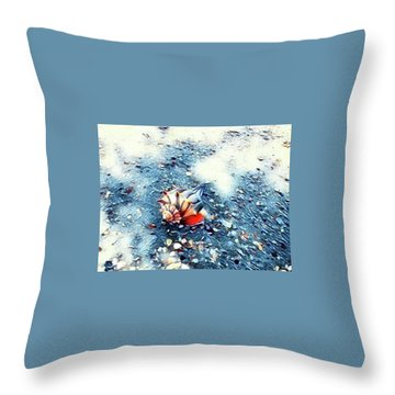 Mystic Conch Throw Pillow