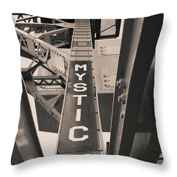 Mystic Connecticut  Throw Pillow