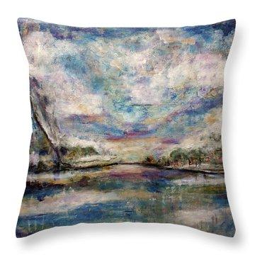 Mystic Cove Throw Pillow
