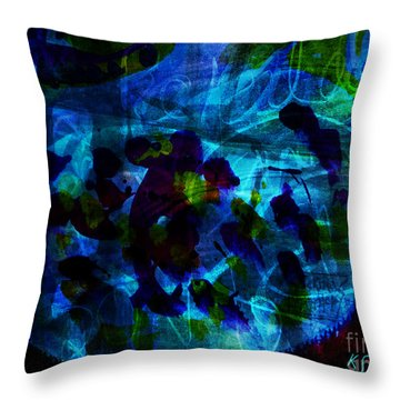 Mystic Creatures Of The Sea Throw Pillow