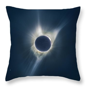 Mystic Eclipse  Throw Pillow