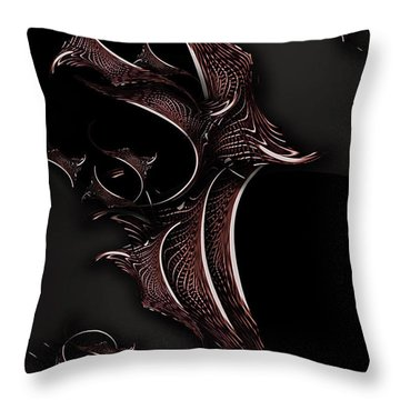 Mystic Experience Constructed Throw Pillow