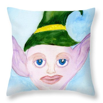Mystic Friend Throw Pillow