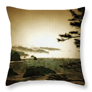 Mystic Landscapes Throw Pillow