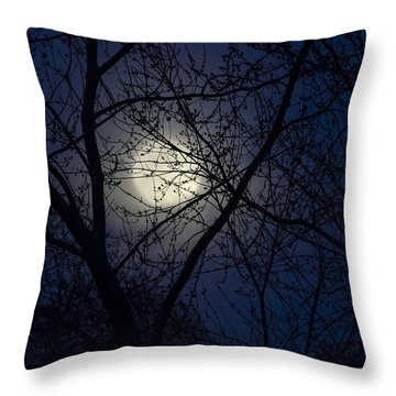 Mystic Moon Throw Pillow