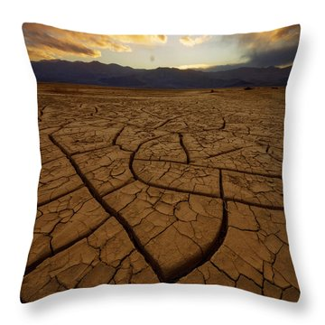 Mystic Mosaic Throw Pillow