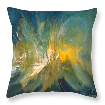 Mystic Music Throw Pillow