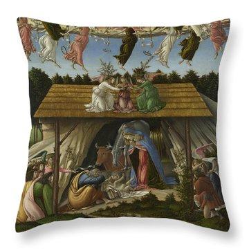 Mystic Nativity -- Throw Pillow