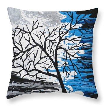 Mystic Night Throw Pillow