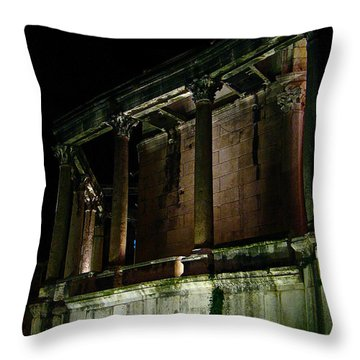 Mystic Split  Throw Pillow