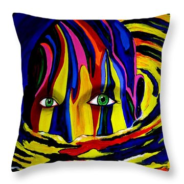 Mystic Waters Throw Pillow