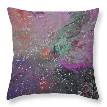 Mystical Dance Throw Pillow