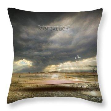 Mystical Light Throw Pillow