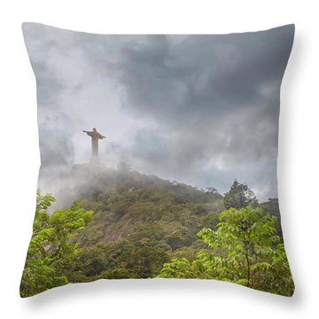 Mystical Moment Throw Pillow