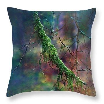 Mystical Moss - Series 1/2 Throw Pillow