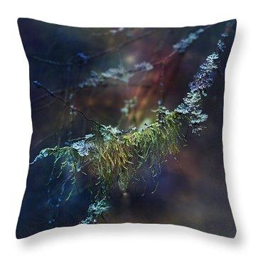 Mystical Moss - Series 2/2 Throw Pillow