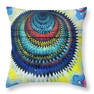 Mystical Ride Throw Pillow