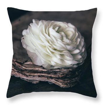 Throw Pillow featuring the photograph Mystique by Kim Hojnacki
