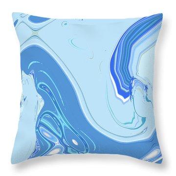 Mythic Coast Throw Pillow