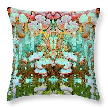 Mythic Throne Throw Pillow