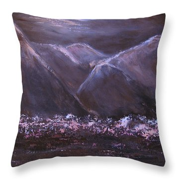 Mythological Journey Throw Pillow by Roberta Rotunda
