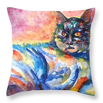 Na Nadia Throw Pillow