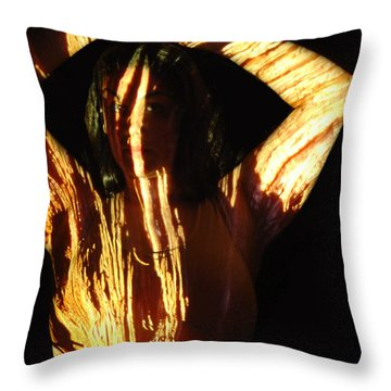 Nadia Throw Pillow by Arla Patch