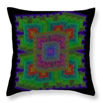 Nadiations Throw Pillow