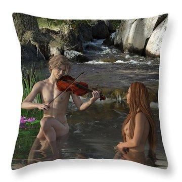 Naecken - The Nix Throw Pillow by Andy Renard