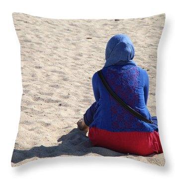 Nagdukka Hi Indah Throw Pillow by Jez C Self