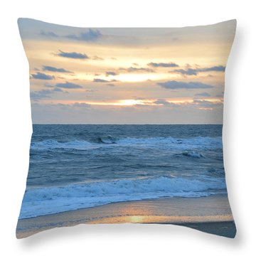 Throw Pillow featuring the photograph Nags Head 11/23 by Barbara Ann Bell