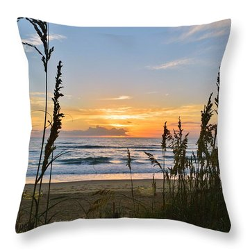 Nags Head August 5 2016  Throw Pillow