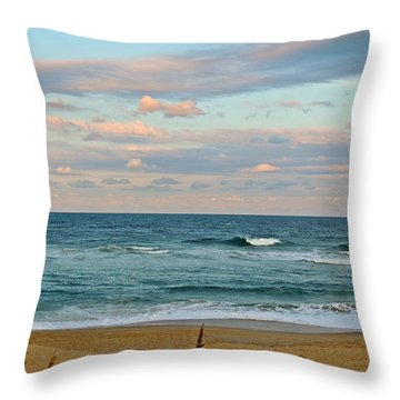 Nags Head Beauty Throw Pillow