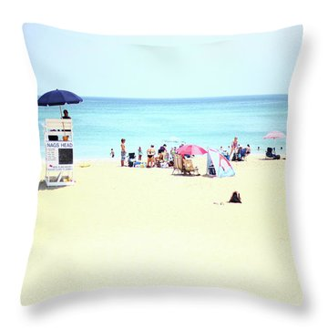 Nags Head Throw Pillow