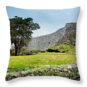 Nakajin Castle Throw Pillow