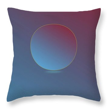 Namaste Throw Pillow by Jack Eadon