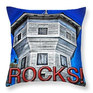 Nanaimo Bastion Throw Pillow
