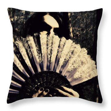 Nancy 2 Throw Pillow