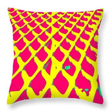 Nanotech Highway Throw Pillow