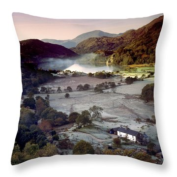Nant Gwynant Throw Pillow