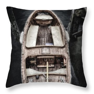 Nantucket Boat Throw Pillow