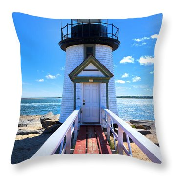 Nantucket Lighthouse - Y3 Throw Pillow
