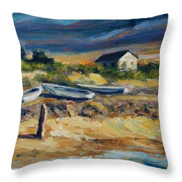 Nantucket Throw Pillow by Rick Nederlof