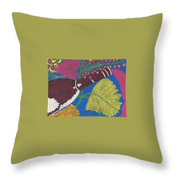 Napa Valley Tastings Throw Pillow