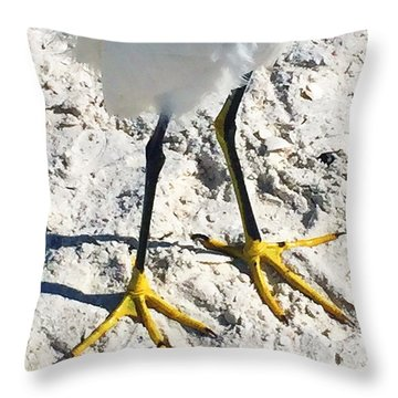 Throw Pillow featuring the photograph Naples 1 by Cindy Greenstein
